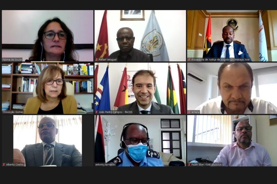 Autoridades angolanas reforçam cooperação para melhorar combate à corrupção e crimes conexos